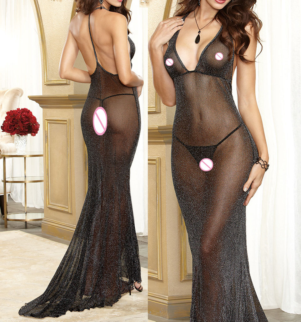 <font><b>sexy</b></font> lingerie <font><b>hot</b></font> long <font><b>dress</b></font> backless <font><b>sexy</b></font> perspective <font><b>sexy</b></font> underwear transparent <font><b>erotic</b></font> lingerie women lenceria <font><b>sexy</b></font> costumes image