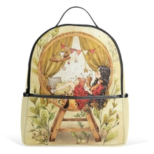 Hot Selling 2017 Quiet Comfortable Window Pattern,Lovely Sister In-law Cool,Tourism Business School Backpack