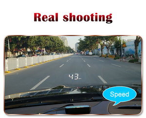 Image 5 - M7 OBDHUD Head Up Display  Universal Car Hud OBD Plus GPS speedometer Windshield Projector On board Automatic Computer