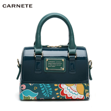 CARNETE Women Bag Fashion Handbag PU Famale Shoulder Designer Luxury Jelly Bags 2019 new bolsa feminina mochila