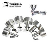Buse ZONESUN pour machine de remplissage G1 4mm 6mm 8mm 10mm 12mm 14mm