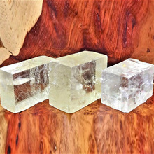 Optical Calcite (1 Pc) Raw Iceland Spar Natural stones and Minerals Healing