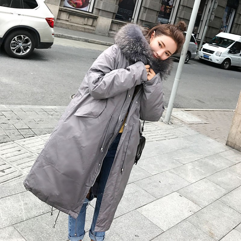 2017 Winter Coat Women Parka Fashion Snow Wear Ladies Coats Long Thick Slim Womens Coats and Jackets Outerwear X-long стоимость