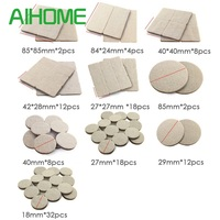 Discount PCS MM Thickened Pads Furniture Feet Legs Protect Hardwood Flooring SIZES Preventing Noises Durable mat Anti-slip