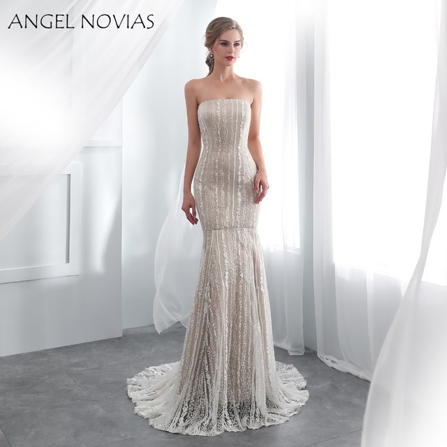 ANGEL-NOVIAS-Long-Champagne-Lace-Wedding