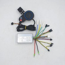 36V 48V 350W ebike controller LCD speed display with throttle shifter screen for BLDC motor/scooter/e bike