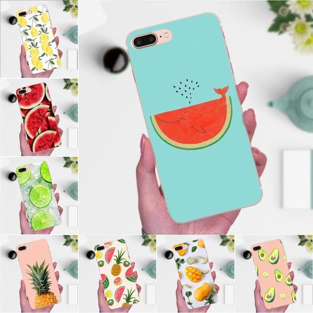 Nueva funda de teléfono de alta calidad fruta de verano sandía limón para Xiaomi Redmi Note 2 3 S 4 4A 4X4 5X5 5A 6 6A Pro Plus