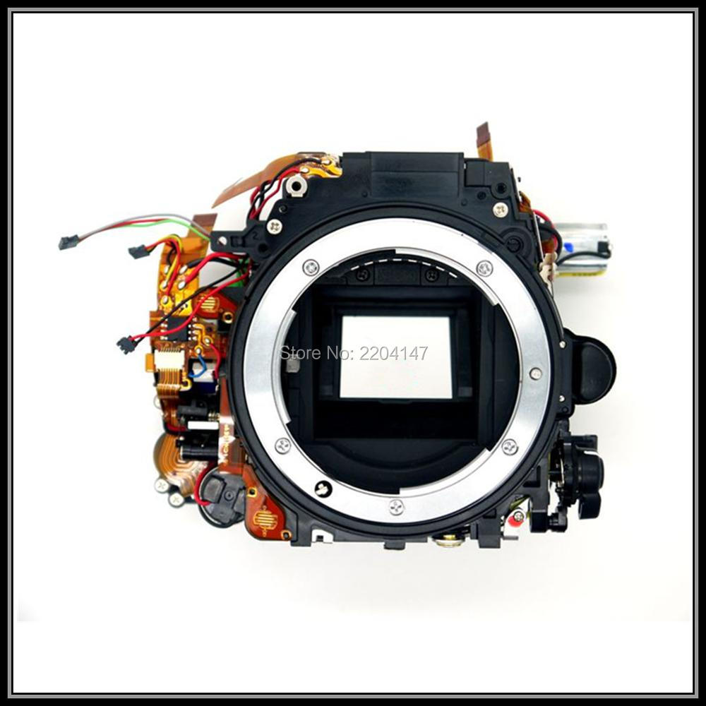 Free shipping! Original Small Main Body ,Mirror Box ,Shutter unit replacement Part For Nikon D7100 original small main body mirror box replacement part for nikon d7200 camera repair parts