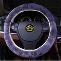Coche cubre volante de piel sintética Cubierta Del Volante Del cuero Genuino 5 colores negro amarillo blanco gris marrón volante
