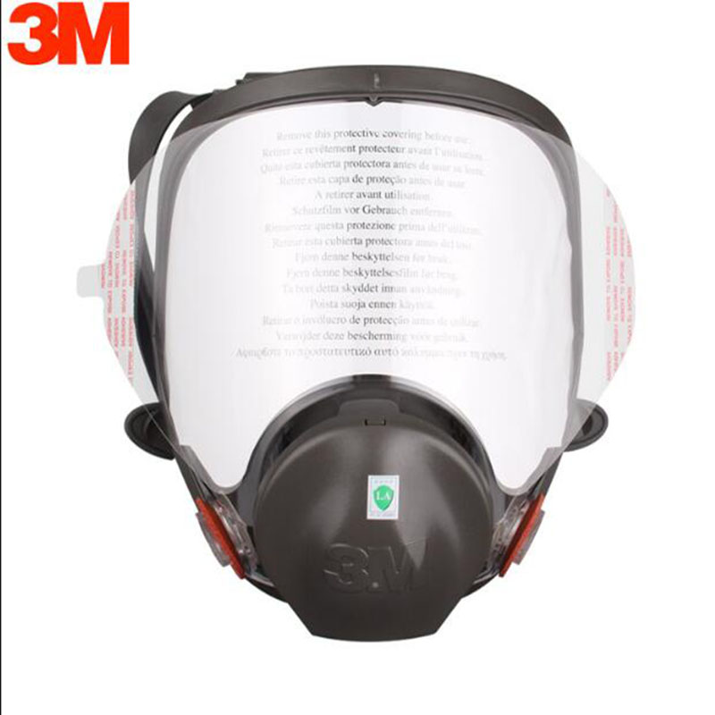5/10/15Pcs 3M 6885 Gas Mask Respirator Transparent Lens Protective Film Cover Suit 3M 6800 Same Full Face Dust Respirator Mask