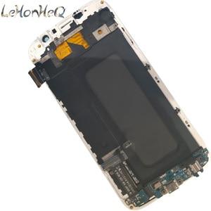 Image 4 - Для samsung Galaxy S6 G920F G920I ЖК дисплей с сенсорным экраном дигитайзер в сборе для samsung S6 G920FD G920FQ lcd с рамкой