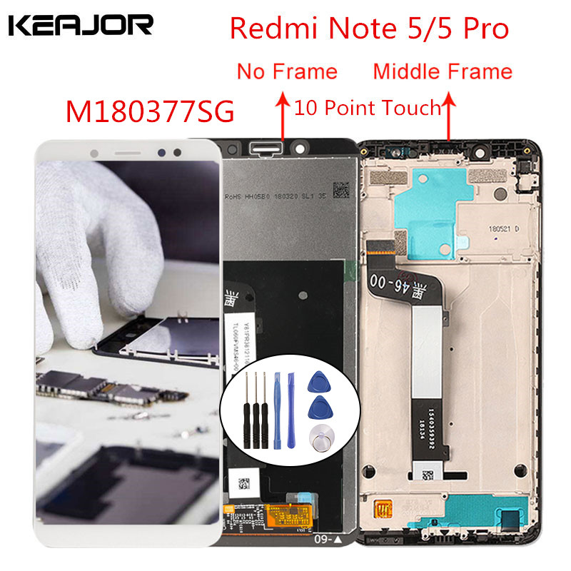 For Xiaomi <font><b>Redmi</b></font> <font><b>note</b></font> 5 <font><b>lcd</b></font> screen <font><b>redmi</b></font> <font><b>note</b></font> 5 <font><b>Pro</b></font> Screen Tested Display Touch Replacement for <font><b>Redmi</b></font> <font><b>Note</b></font> 5/<font><b>Note</b></font> 5 <font><b>Pro</b></font> 5.99' image