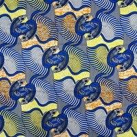 Lock And Key Design Hollandais Style 100 Cotton Wax Veritable Real Wax Batick Prints Dutch Fabric