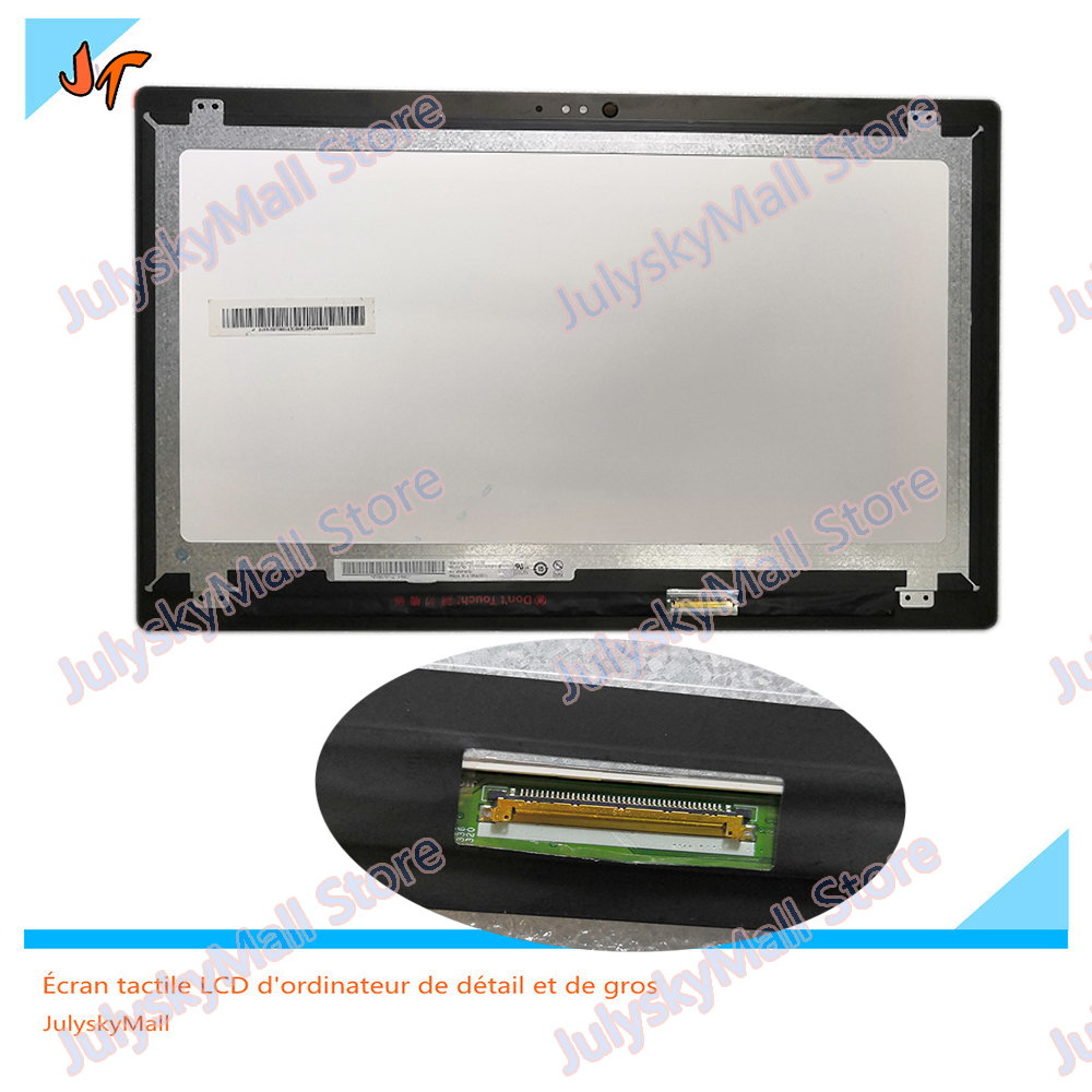 100% test15.6  inch LCD Screen for Dell Inspiron 13 5568 5578 LCD + Touch Digitizer Component FHD Display B156HAB01.0100% test15.6  inch LCD Screen for Dell Inspiron 13 5568 5578 LCD + Touch Digitizer Component FHD Display B156HAB01.0