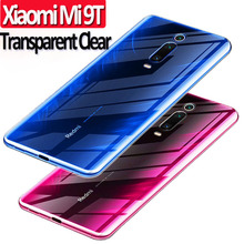 Transparent Clear Phone Case For Xiaomi Mi 9T Pro 9 SE Soft TPU Full Cover Protector