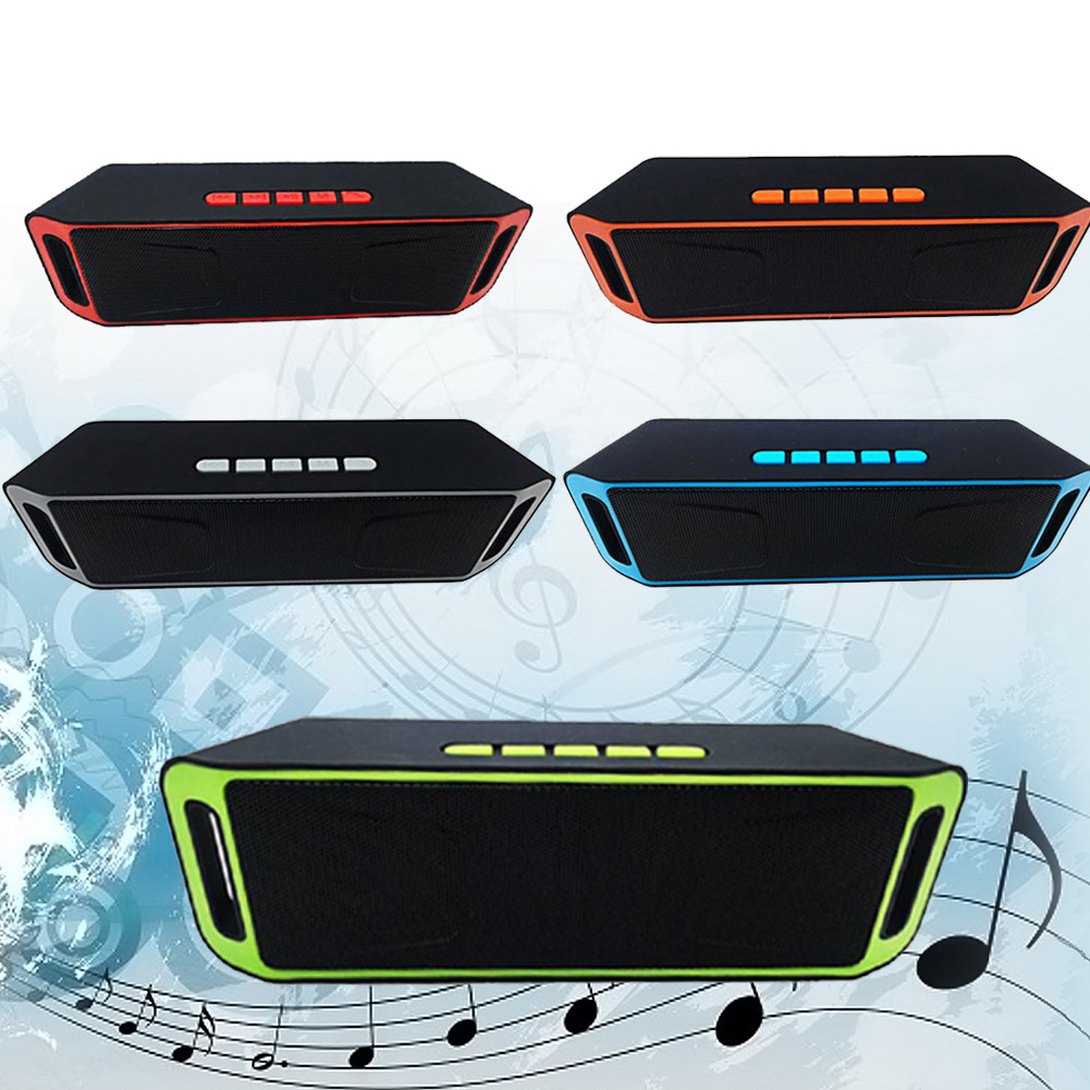 Kisronda SC208 Portable Wireless Bluetooth Speaker With Hands-Free Calling For Phones 6