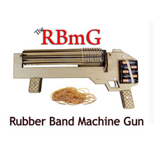 1Piece RBmG Rubber Band Machine Gun Shoots Up to 10 Rounds Per Second Ultimate Office Warfare