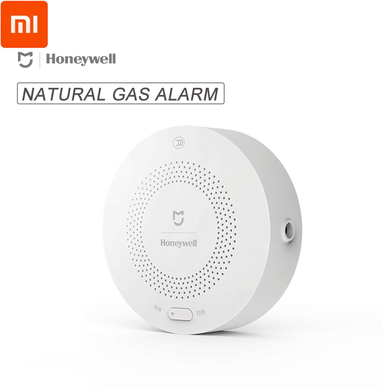 Original Xiaomi Smart Home Honeywell Natural Gas Alarm Detector Aqara Zigbee Remote Control CH4 Monitor Security For Mi Home