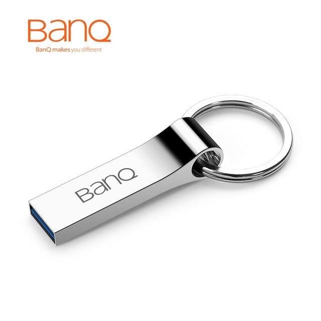 BanQ P90 Moda de Alta Velocidad de 64 GB USB 3.0 Flash Drives de Metal A Prueba de agua Usb Stick Pen Drive USB Flash Drives Envío gratis