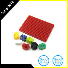 7pcs Mini 25 Tie-points Breadboard Solderless + PCB Adapter Board For Arduino