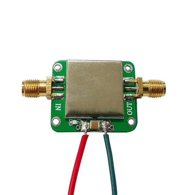 Aiyima 50M-6GHz RF Amplifier Board Broadband Gain Amplification Low Noise Medium Amplifier Module Gain 19dB For FM GPS WIFI