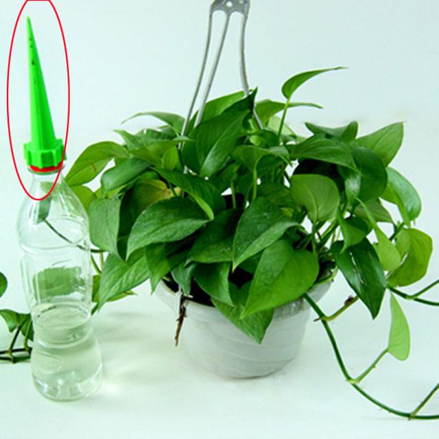 Flower Waterer Bottle Irrigation Garden Tools4pcs/lot Watering Cone Spike Garden Plant