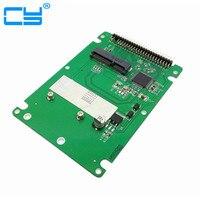 Free Shipping High Quality MSATA Mini PCI E SATA SSD To 2 5 Inch IDE 44pin