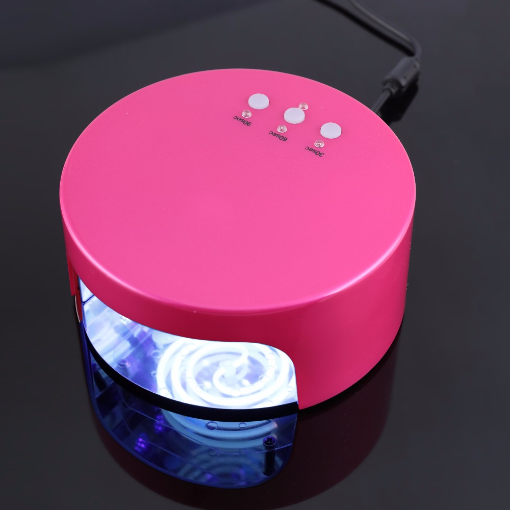 36W Dual Use LED Nail Dryer CCFL Gel Polish Curing UV Lamp Nail Light Machine Powerful Nail Art Dryer EU Plug eu us plug 48w nail dryer uv led ccfl nail curing lamp dryer light machine uv gels auto nail polish tools led lamps nail dryer