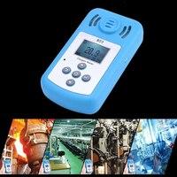 Мини ЖК дисплей цифровой кислорода тестер O2 концентрации детектор анализатор Температура Meter со звуком световой сигнализации