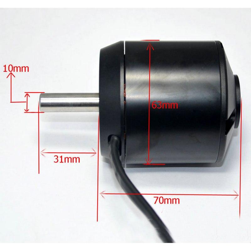 N5065 N6374 patineta Motor sola unidad Dual monopatín eléctrico sin escobillas Motor DC Motor Outrunner eléctrica DIY Skate - 3