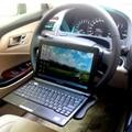 2 X Más Nuevo Cuadro Salpicadero de Un Coche Volante Escritorio Multiuso de Trabajo de la bandeja Bebida Taza de Libros Alimentación Laptop Notebook PC Tablet EA5006
