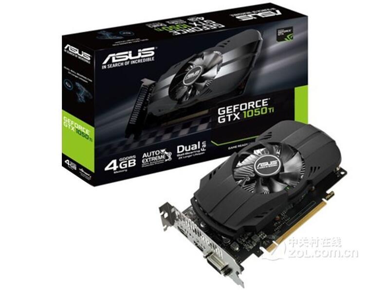 Asus PH-GTX1050TI-4G PHOENIX Phoenix Edition 4G Game Graphics Low Power Consumption