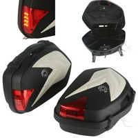 Hard Saddlebags Trunk Bag Luggage With Light For KTM 125 200 DUKE 2012 2015 2013