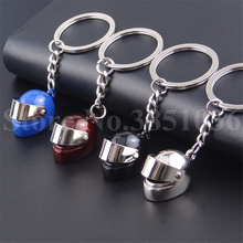 100 cái/lốc Racing Helmet Key Chain Xe Máy Mũ Bảo Hiểm Keychain Xe Dễ Thương Mũ Bảo Hiểm An Toàn Keyring Bag Key Ring Hiệp Sĩ Hat Key chuỗi