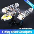 Lepin 05040 Serie Guerra de las Galaxias Y de Ataque del ala Starfighter de Construcción Ensambladas Juguete del Ladrillo Compatible con el JUGUETE