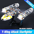 Lepin 05040 Star War Series Y-wing Attack Starfighter Building Assembled Block Brick  Toy Compatible with TOY