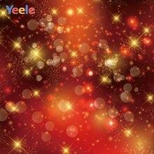 Yeele Christmas Wallpaper Bokeh Lights Customized Photography Backdrops Personalized Photographic Backgrounds For Photo Studio