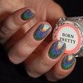 BORN PRETTY 1g Rainbow Holographic Powder Duochrome Unicorn Laser Glitter Dust Chrome Pigment DIY Manicure Nail Art Decorations