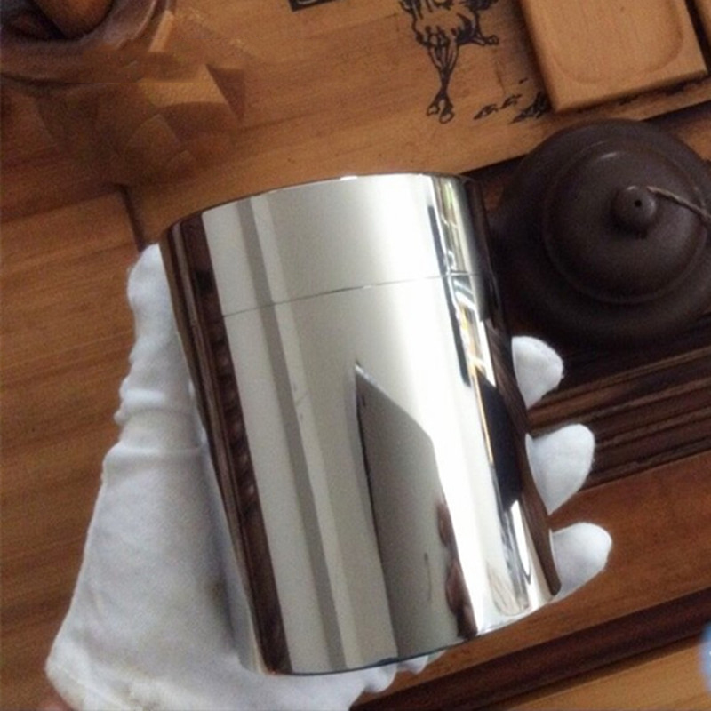 EDC sealed storage box outdoor titanium cylinder coffee tea tank cans box tools ultralight portable EDC