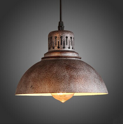 Retro American industrial Loft Style Pendant Lamp,Pendant Light For Coffee hall bedroom,Creative Do the old,E27*1 Bulb IncludedRetro American industrial Loft Style Pendant Lamp,Pendant Light For Coffee hall bedroom,Creative Do the old,E27*1 Bulb Included