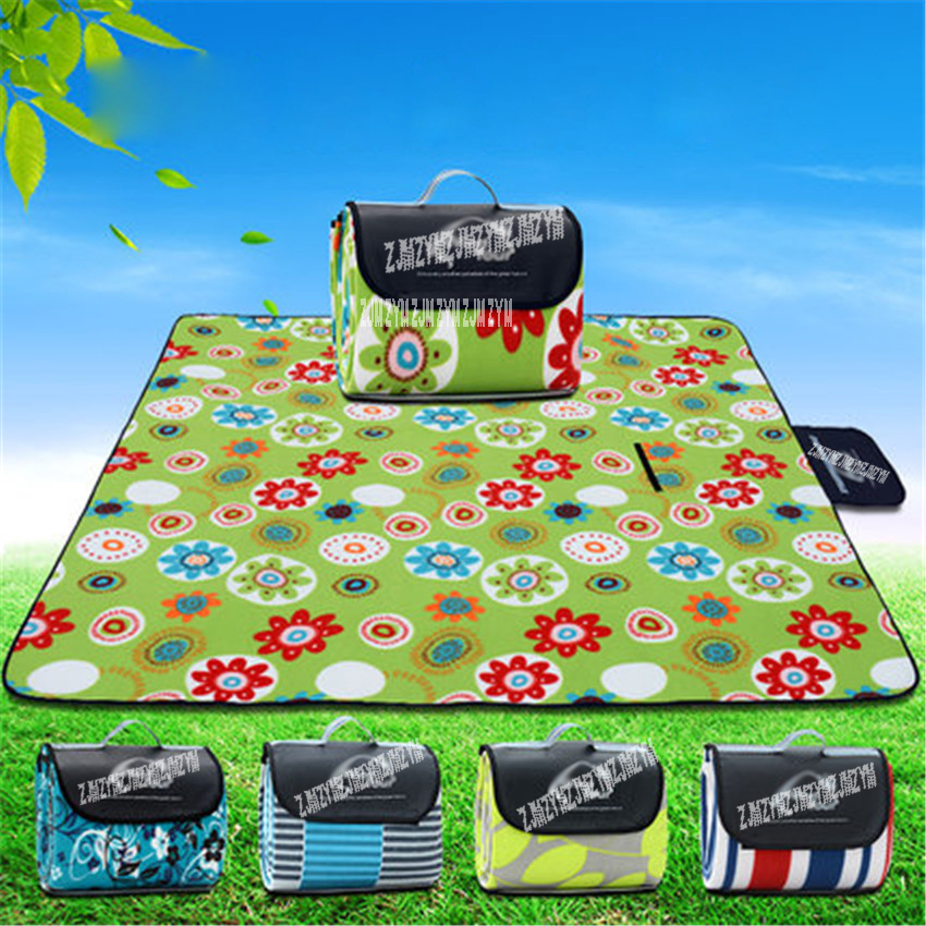 Outdoor Camping Mat 200*200cm Waterproof Foldable Picnic Mat Plaid Beach Blanket Baby Climb Blanket Multiplayer Tourist Mat high quality barbecue camping equipment matelas gonflable tourist tent mat sleeping blanket beach mat yoga pad