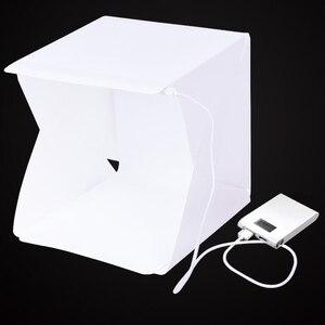Image 2 - Baolyda נייד LED סטודיו תמונה תיבת 24/30/40 cm צילום סטודיו אביזרי עם שחור/לבן רקע עבור תמונה סטודיו Softbox