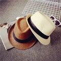 Мода шляпа женщина шляпа летом мужской strawhat джаз любителей шляпа пляж шляпа бесплатная доставка