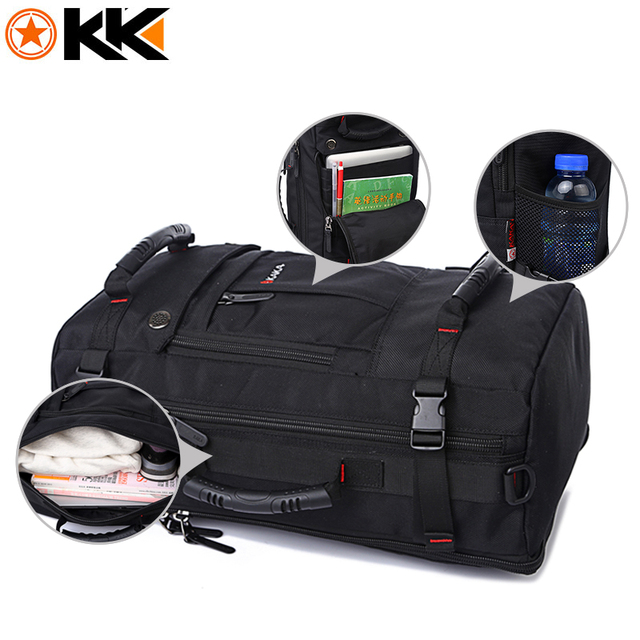 40L Large Capacity Polyester Waterproof Backpack 1