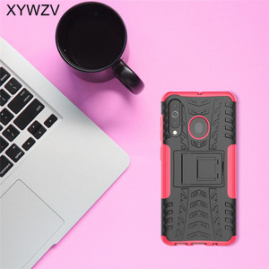 Image 4 - For Samsung Galaxy A60 Case Shockproof Armor Soft PU Silicone Hard PC Phone Case For Samsung Galaxy A60 Cover For Samsung A60