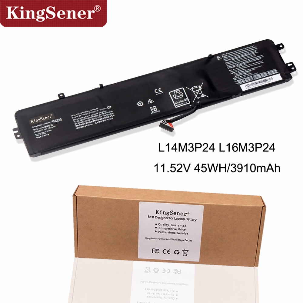 KingSener New L14M3P24 L14S3P24 L16M3P24 <font><b>Laptop</b></font> Battery For <font><b>Lenovo</b></font> Ideapad Xiaoxin 700 R720 <font><b>Y700</b></font>-14ISK Y520-15IKB Y720-14ISK image