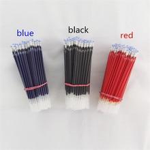 10 Pcs 0.5mm Core Needle Bullet Head Water Refills Pens School Pen Gel Pen Kawaii School
