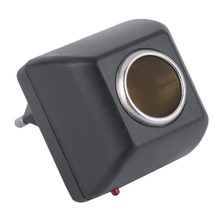 Адаптер переменного тока с розетка в автомобиль автомобильное зарядное устройство ЕС вилка 220 В переменного тока до 12 В постоянного тока использование для автомобильных электронных устройств использование дома