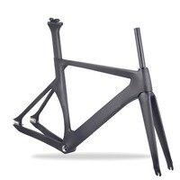 Китайский фиксированной Шестерни 700c углеродного волокна трек углерода велосипеда TR011