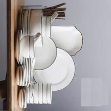 GUCI 56 piecesTableware Set Bowl Household Bowl Combination Japanese Bone Porcelain 56 South Korean Ceramic Plate Set